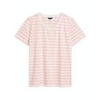 T-Shirt a Manica Corta Donna Gant Breton Striped