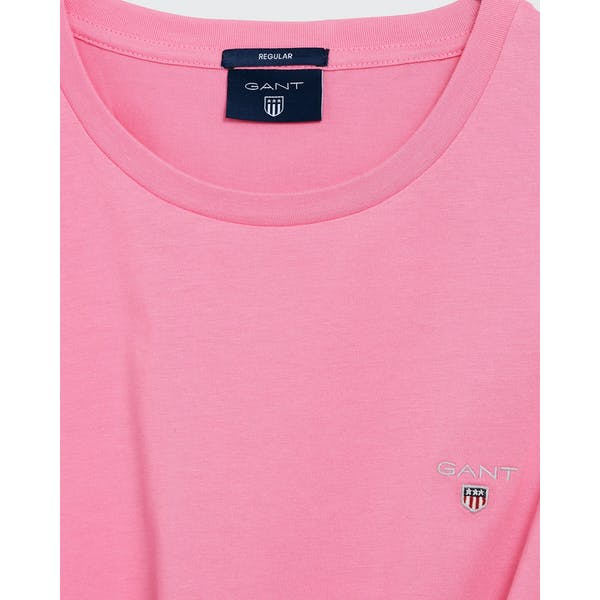 Gant Solid Men's Short Sleeve T-Shirt