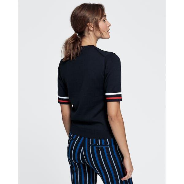 Gant Cotton Top Kvinner Kortermet t-skjorte