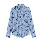 Gant Floral Cotton Silk Women's Shirt