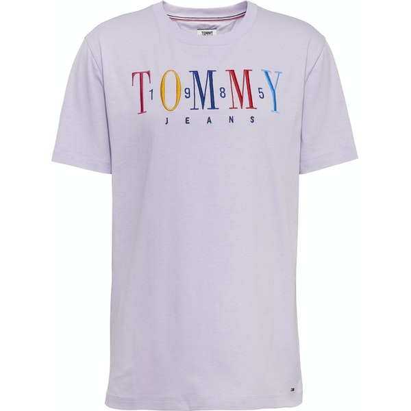Tommy Jeans 1985 Embroidery Women's Short Sleeve T-Shirt