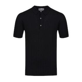 John Smedley Adrian Polo-Shirt - Black