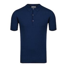 John Smedley Adrian Polo-Shirt - Indigo