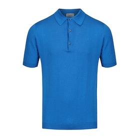 John Smedley Adrian Polo-Shirt - Statice Blue