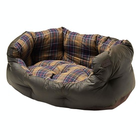 Barbour Wax Cot 24 Inch Dog Bed - Classic Olive