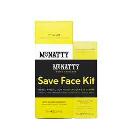 Mr Natty Urban Protection Duo Save Face Kit Grooming Gift Set - N/a