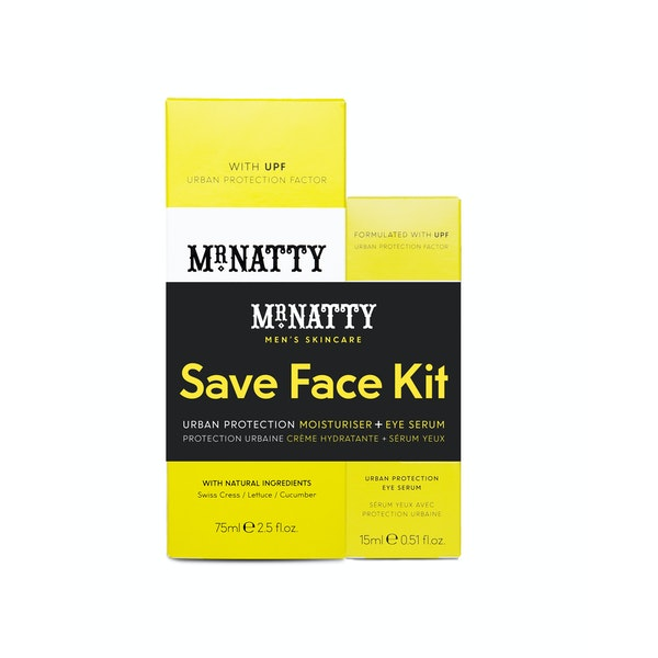 Grooming Gift Set Mr Natty Urban Protection Duo Save Face Kit
