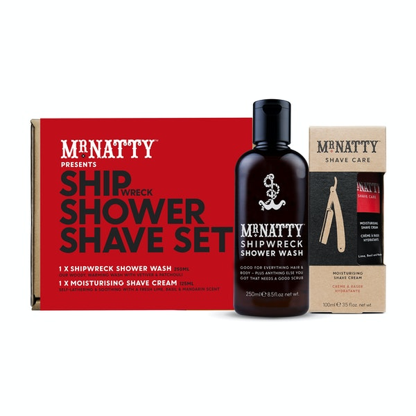 Mr Natty Ship Shower Shave Grooming Gift Set