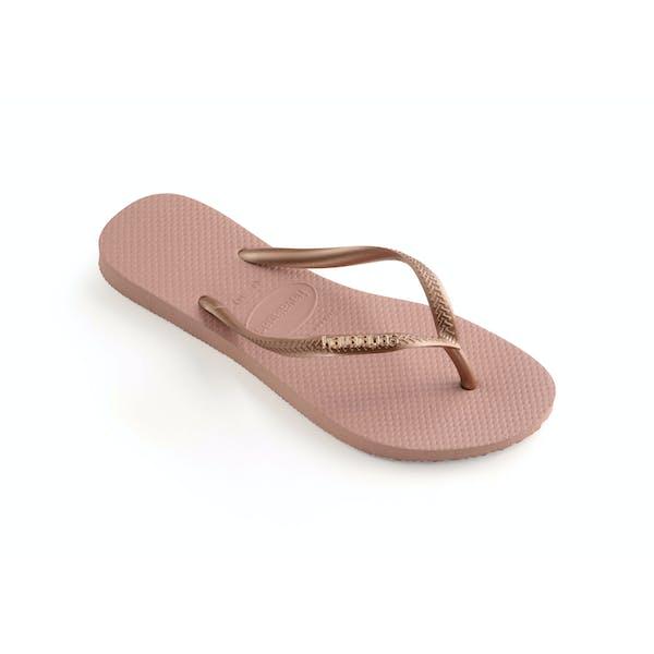 Havaianas Slim Logo Metallic Damski Sandały