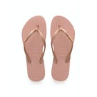 Havaianas Slim Logo Metallic Women's Sandals