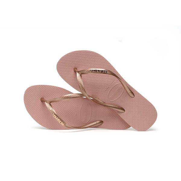 Havaianas Slim Logo Metallic Dames Sandalen