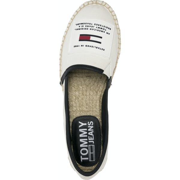 Tommy Jeans Rubber Patch Espadri, 100 Women's Espadrilles