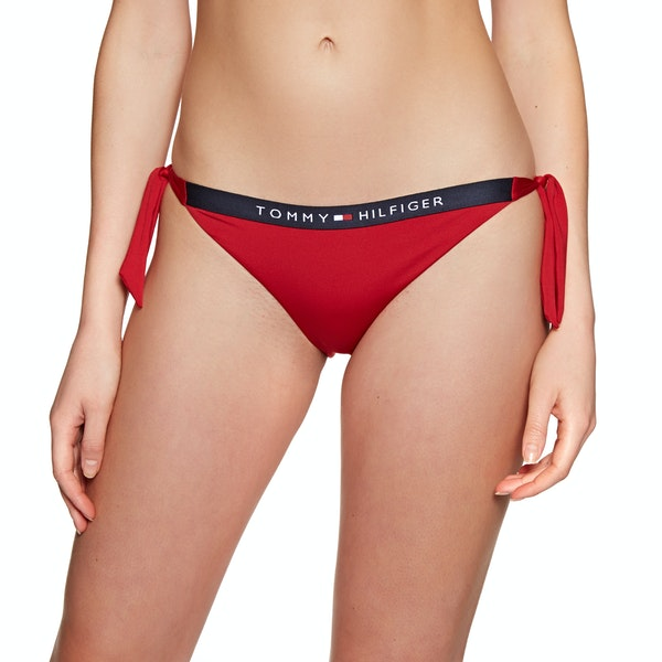 Tommy Hilfiger Cheeky Side Tie Bikini Bottoms