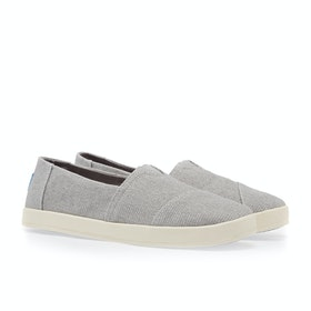 Toms Avalon Women's Slip On Trainers - Grey