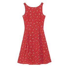 Cath Kidston Sleeveless Printed Broderie Dress - Posey Brig