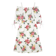 Cath Kidston Off Shoulder Cotton Dress