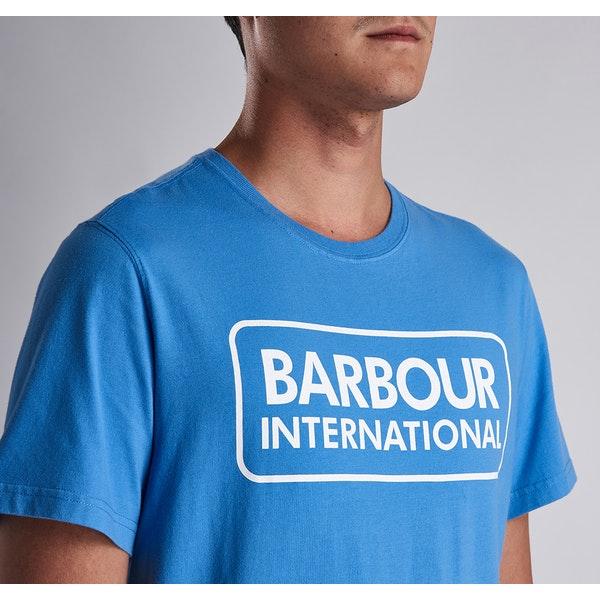 Barbour International Essential Large Logo Short Sleeve T-Shirt