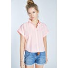 Jack Wills Stowell Stripe Dolman Sleeve Women's Short Sleeve Shirt