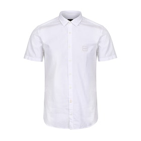 BOSS Magneton 1 Short Sleeve Shirt - White