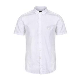 BOSS Magneton 1 Kurzarmhemd - White