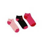 Lulu Guinness 3 Pack Crew Women's Fashion Socks