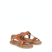 Penelope Chilvers Alma Leather Crepe Women's Sandals