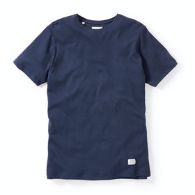 Peregrine Made In England Classic Short Sleeve T-Shirt - Navy
