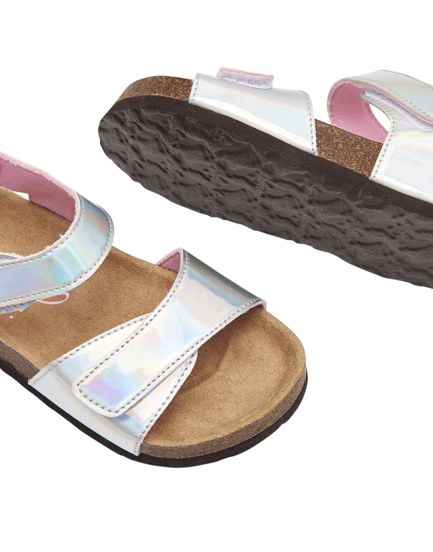 Metallic Silver All Sizes Joules Tippytoes Girls Footwear Sandals