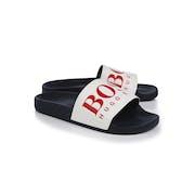 BOSS Solar Slide Logo Sandals