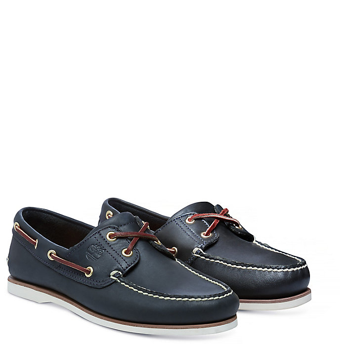 Kleidung & Accessoires Timberland Classic 2 Eye Boat Shoes