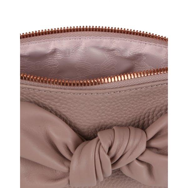 Ted Baker Milah Leather Soft Knot Kvinner Make Up Bag