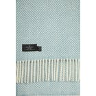 Country Attire Pure New Wool Fishbone Throw