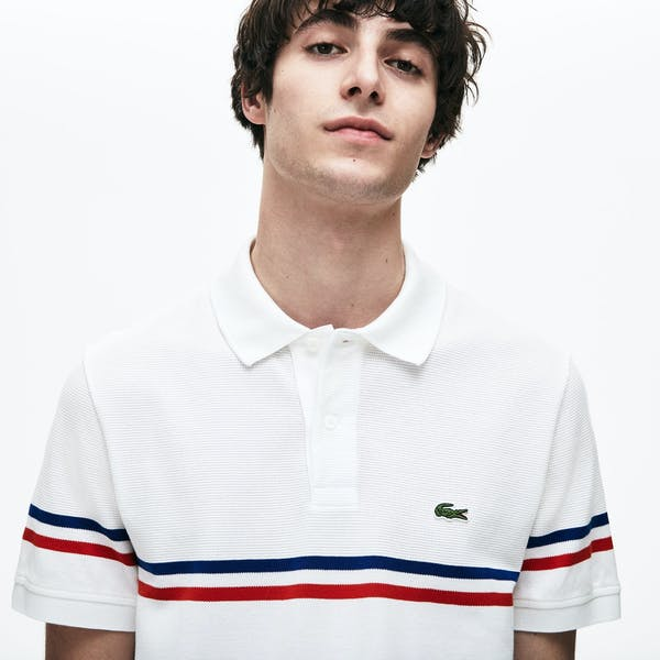 Lacoste Tricolour Poloshirt