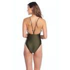 Polo Ralph Lauren Luster Solids Bungee Y-back 1 Piece Damen Badeanzug