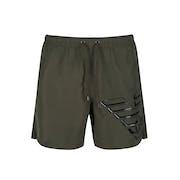 Emporio Armani Metal Eagle Swim Shorts