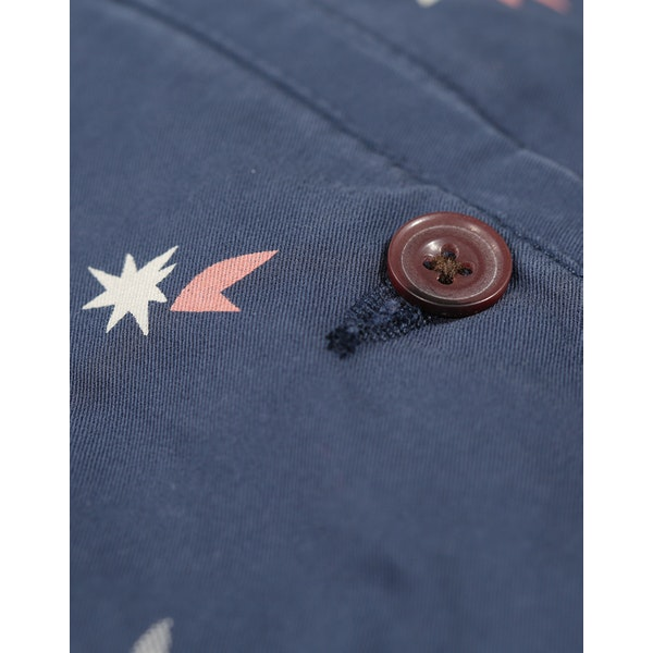 Farah Hawk Balearic Print Shorts
