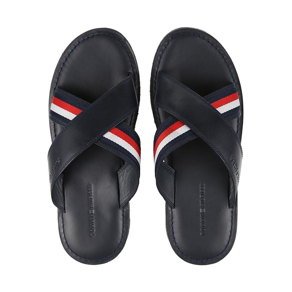 Tommy Hilfiger Criss Cross Leather サンダル