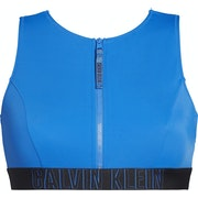 Calvin Klein Open Back Crop Women's Bikini Top