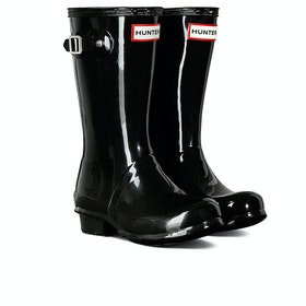 Hunter Original Gloss Kinder Gummistiefel - Black