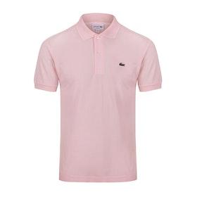 Lacoste L1212 Classic Premium Herren Polo-Shirt - Flamant