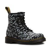 Dr Martens 1460 Script Kid's Boots