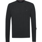 Tommy Hilfiger Cable Knit Crew Neck Breigoed