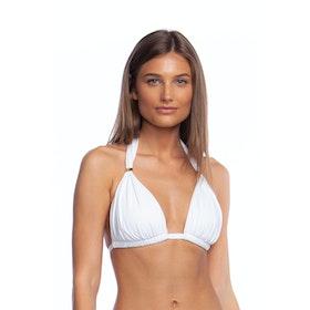 Lauren Ralph Lauren Bcs Mold Cup Slider Bikini Top - White