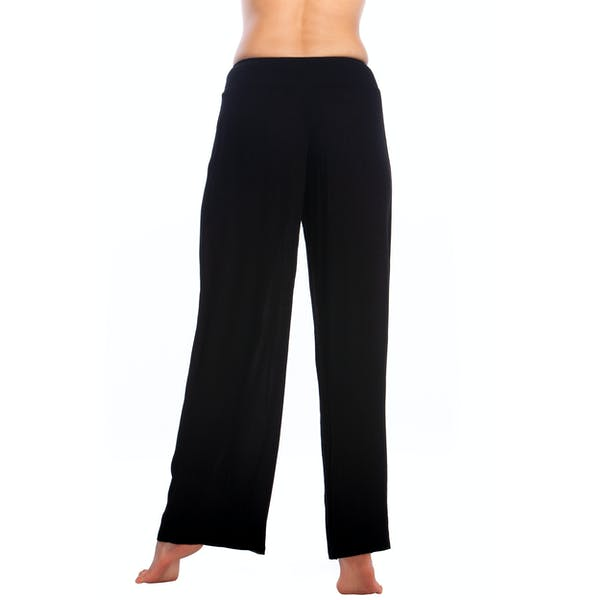 Ralph Lauren Crincle Rayon Smocked Kvinner Trousers