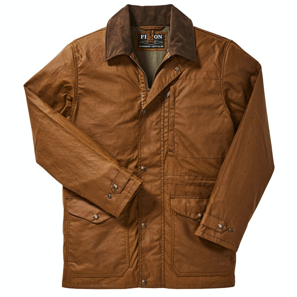 Filson Cover Cloth Mile Marker Coat Wax Jacket