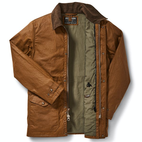 Filson Cover Cloth Mile Marker Coat Wax Jacket