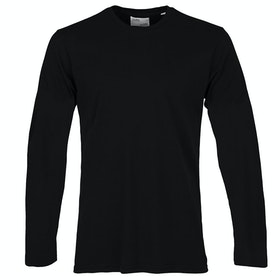 Colorful Standard Classic Organic Langarm-T-Shirt - Deep Black