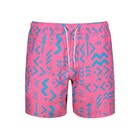 Farah Colbert Abstract Tribal Swim Shorts