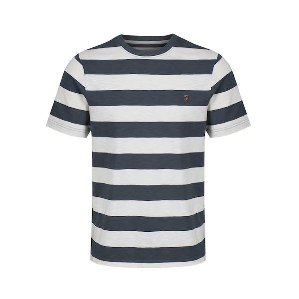 Farah Raz Stripe T-Shirt Korte Mouwen