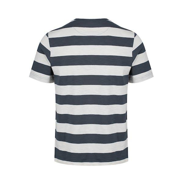 Farah Raz Stripe Koszulka z krótkim rękawem
